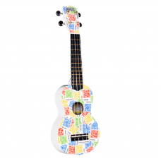 Укулеле сопрано Mahalo U-Art Series Soprano (QR-code)