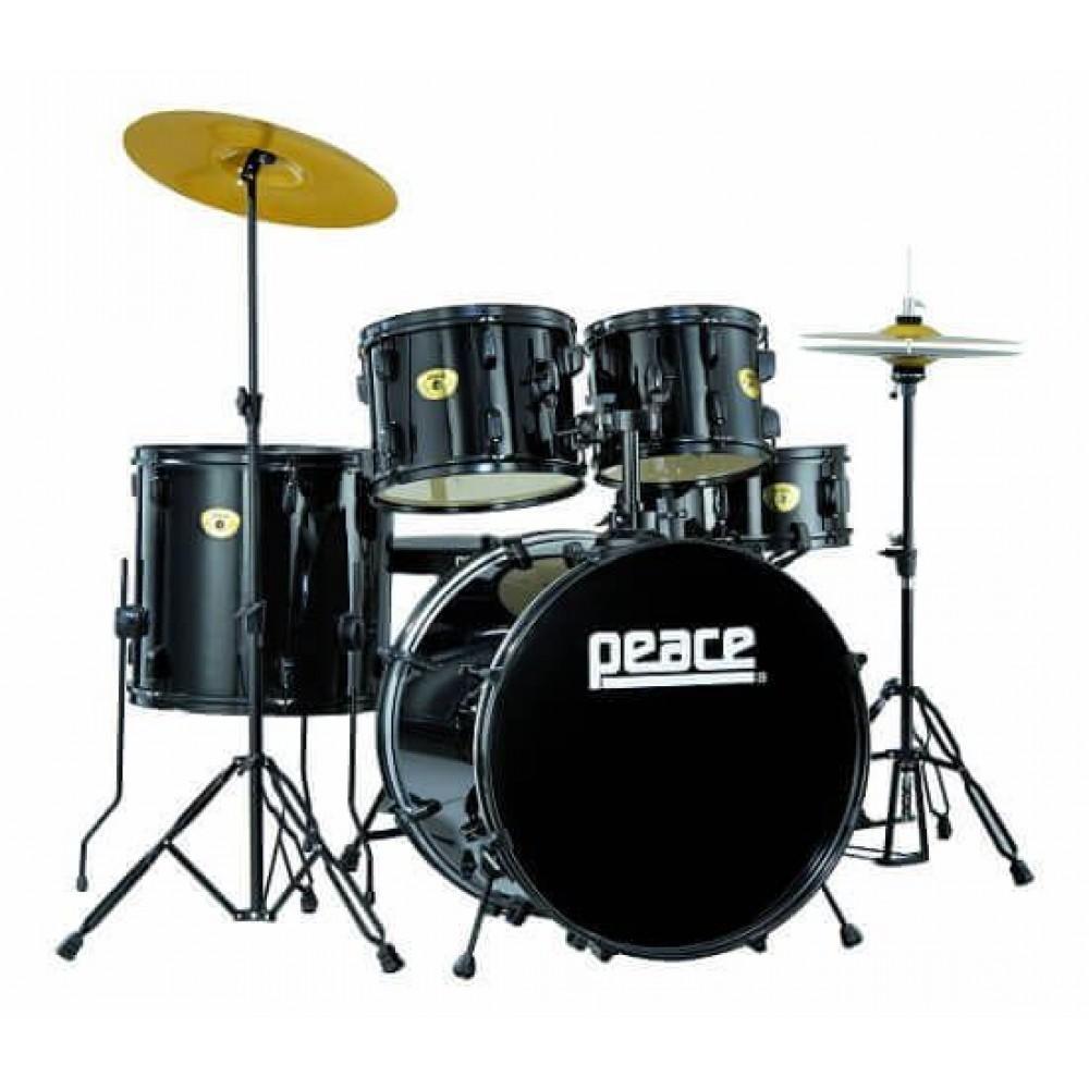 Барабанная установка Peace Prodigy Series DP-109 чёрная