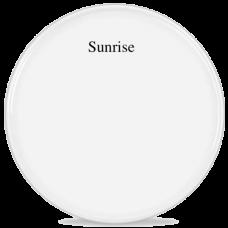 """Пластик белый Sunrise 12"""""""