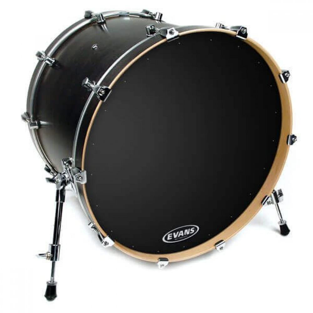 Evans BD22RA EQ1 Resonant Black 22""