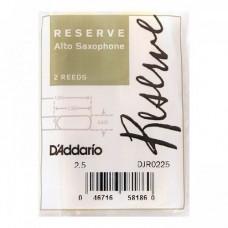 Трость Rico DJR0225 Reserve для саксофона альт