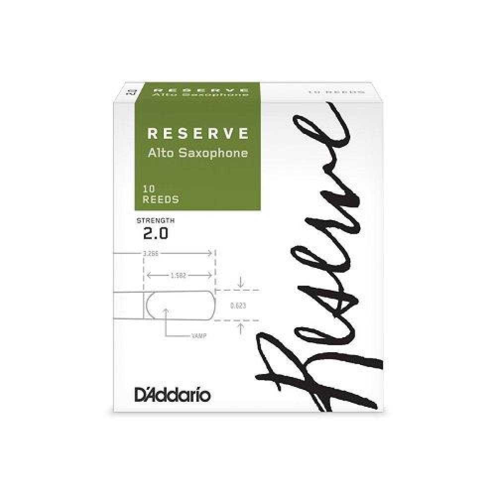 Трость Rico DJR0220 Reserve для саксофона альт