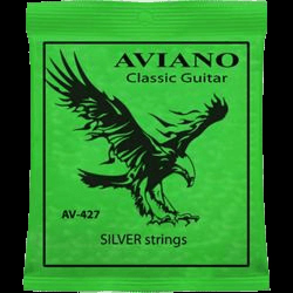 Aviano AV-427 Classic Guitar Silver Strings