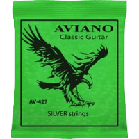 Aviano AV-427 Classic Guitar Silver Strings