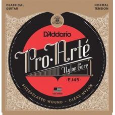 D'Addario Pro-Arte Nylon EJ-45