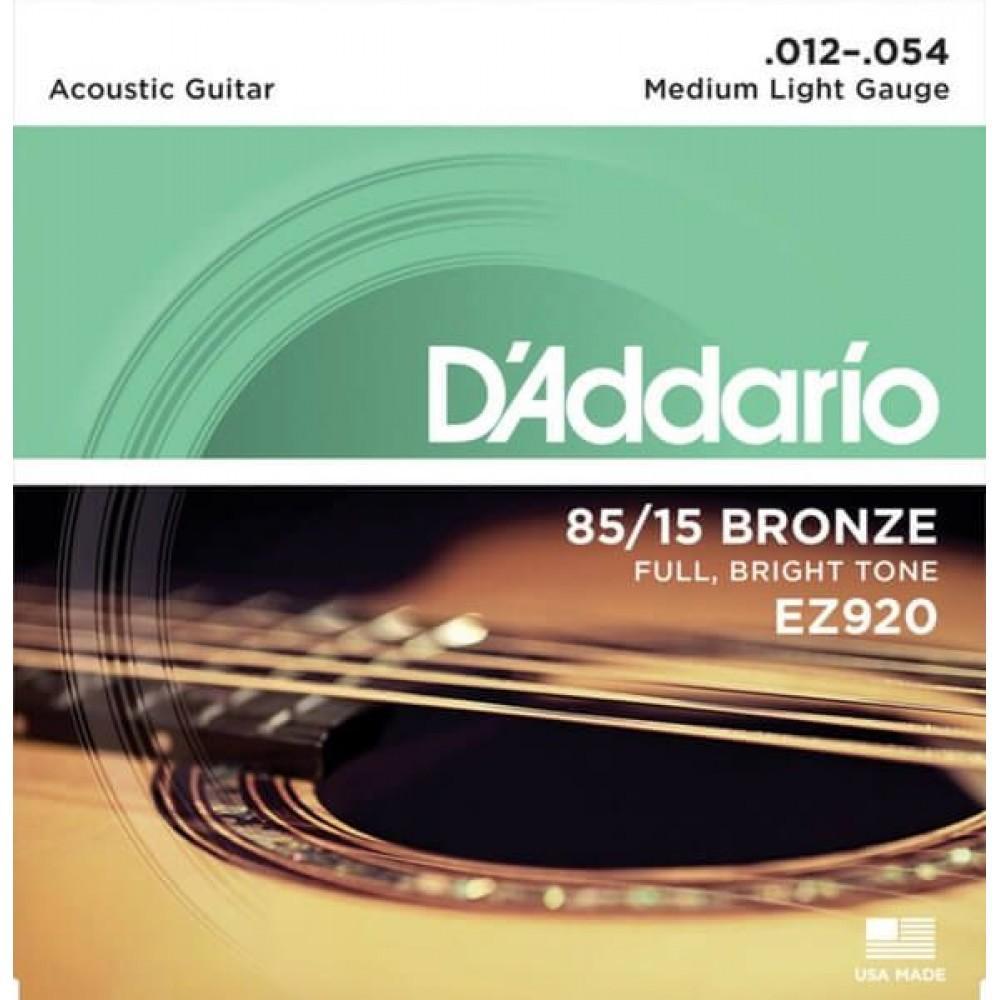 D'Addario EZ920 12-54 Medium Light