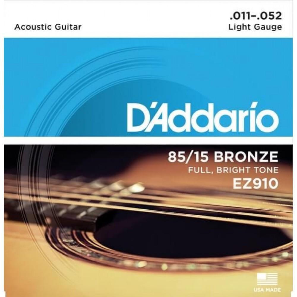D'Addario EZ910 11-52 Light
