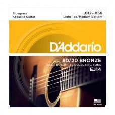 D'Addario 80/20 Bronze 12-56 (EJ14)