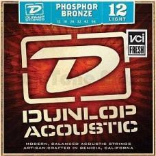 Dunlop DAP1254, Light, фосфорная бронза, 12-54