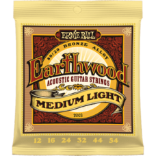 Ernie Ball 2003 12-54 Earthwood Medium Light 80/20 Bronze