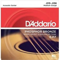 D'Addario EJ-17, фосфорная бронза 13-56