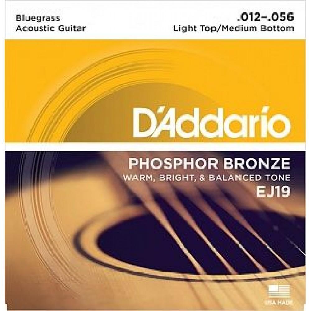 D'Addario EJ-19, фосфорная бронза 12-56