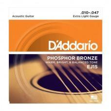 D'Addario Phosphor Bronze 10-47 (EJ15)