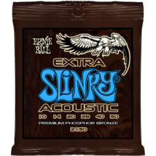 Струны для акустической гитары Ernie Ball 2150 10-50 Extra Slinky Phosphor Bronze