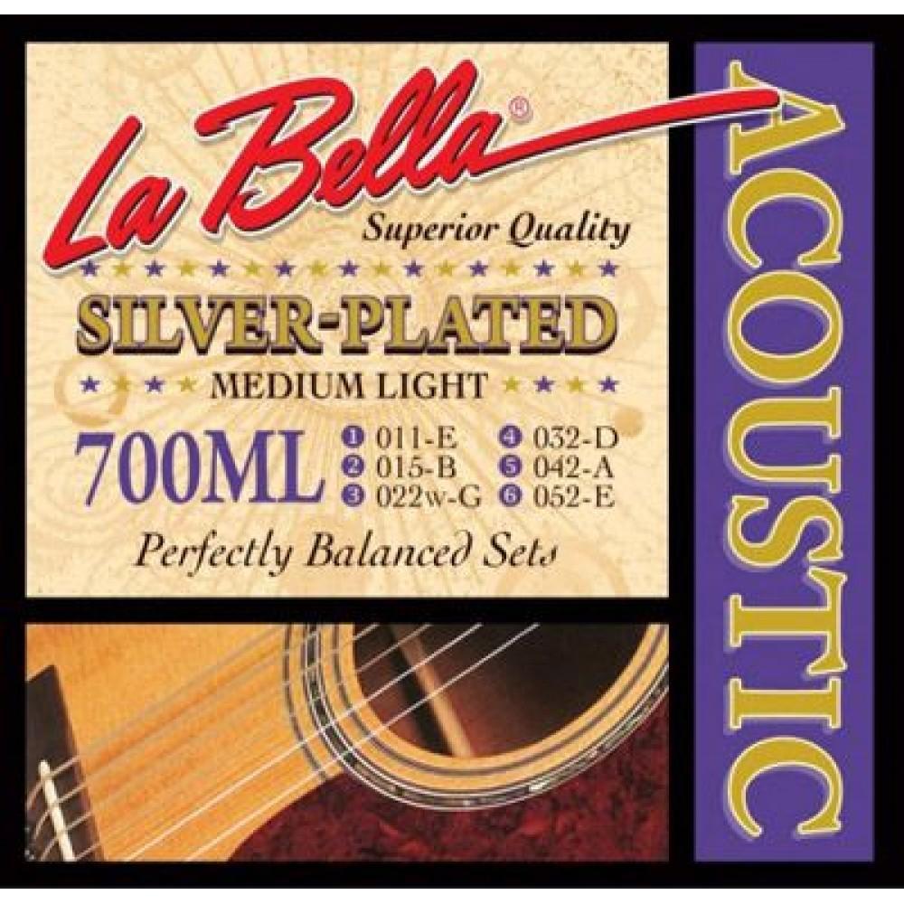 La Bella 700ML 11-52 Medium Light