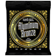Ernie Ball 2568 11-52 Aluminium Bronze Light