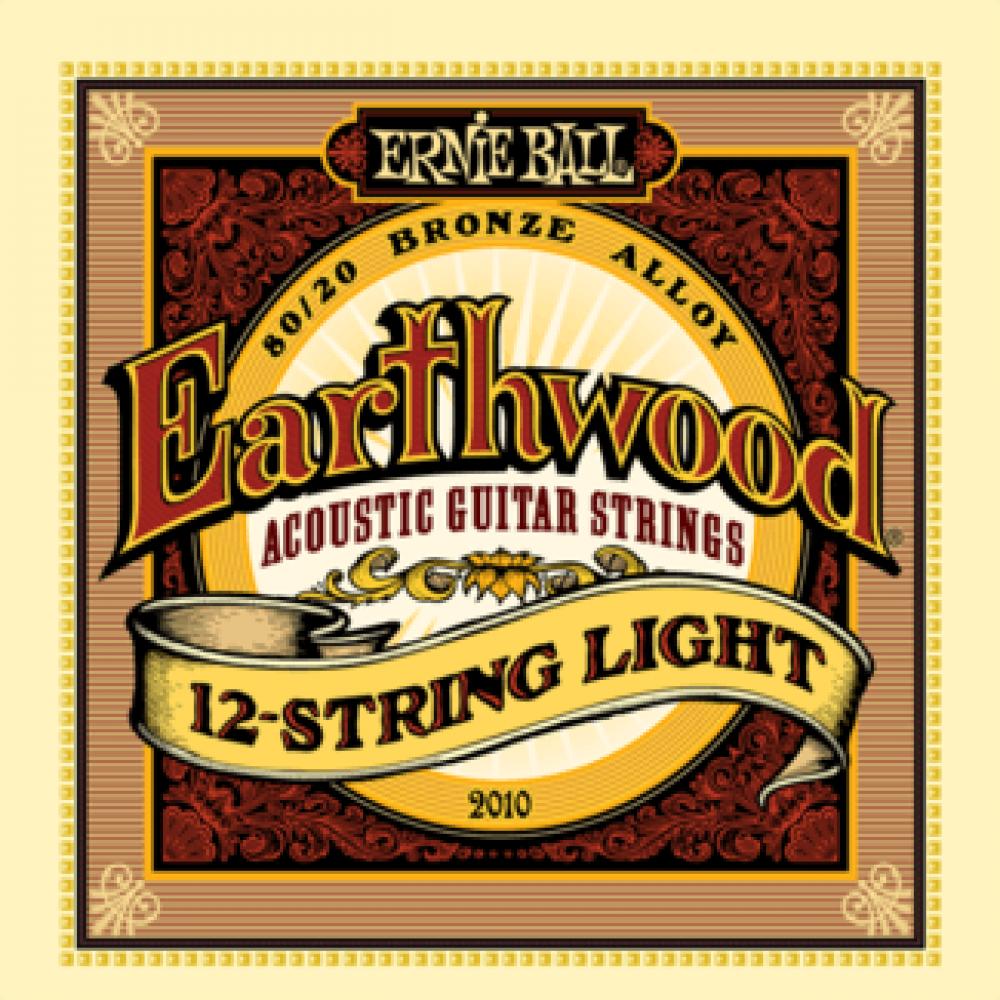 Ernie Ball 2010 9-46 Earthwood 12-String Light 80/20 Bronze