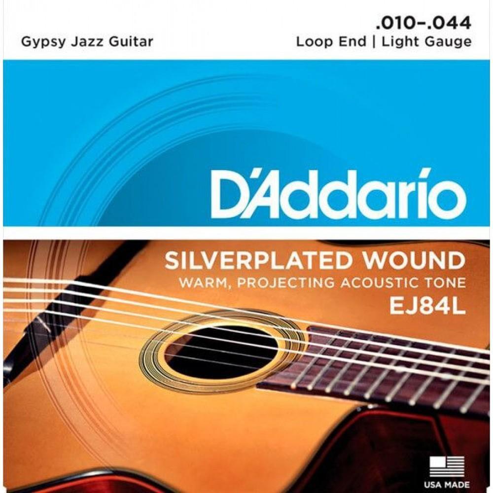 D'Addario Gypsy Jazz 10-44 EJ84L