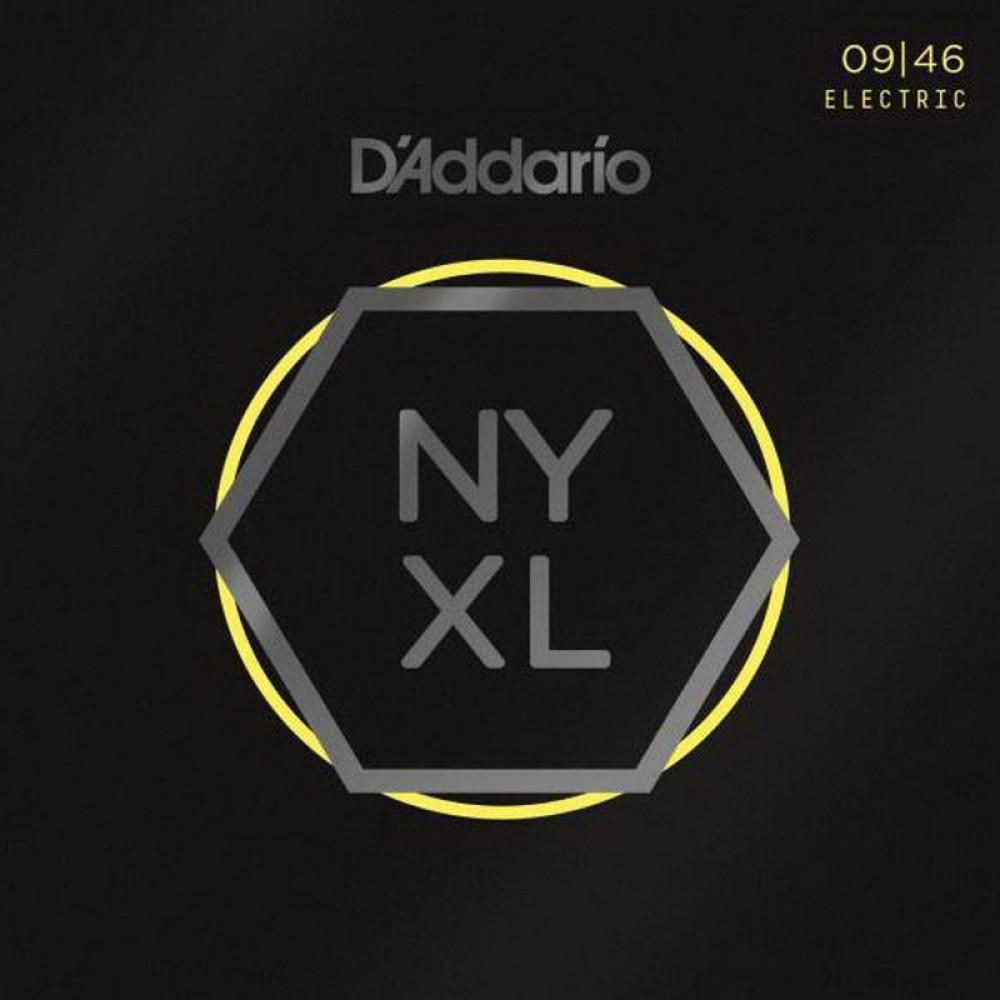 Струны для электрогитары D'Addario NYXL0946, fusion twist nickel 09-46