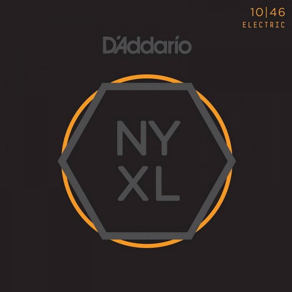 Струны для электрогитары D'Addario NYXL1046, fusion twist nickel 10-46