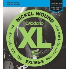 D'Addario 45-135 (EXL165-5)