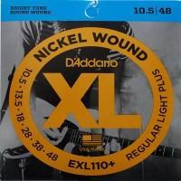 D'Addario EXL-110+, никель 10,5-48 струны для электрогитары