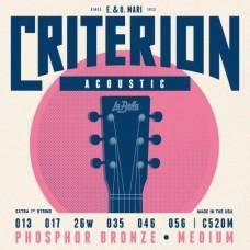 La Bella C520M 13-56 Medium струны для акустической гитары