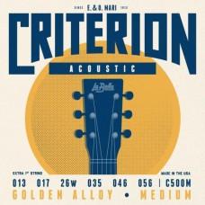 La Bella C500M 13-56 Medium струны для акустической гитары