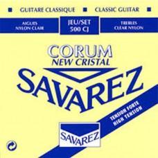 Струны Savarez 500CJ, классические, посеребренные, High Tension