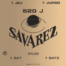 Струны Savarez 520J, классические, посеребренные, Extra High Tension