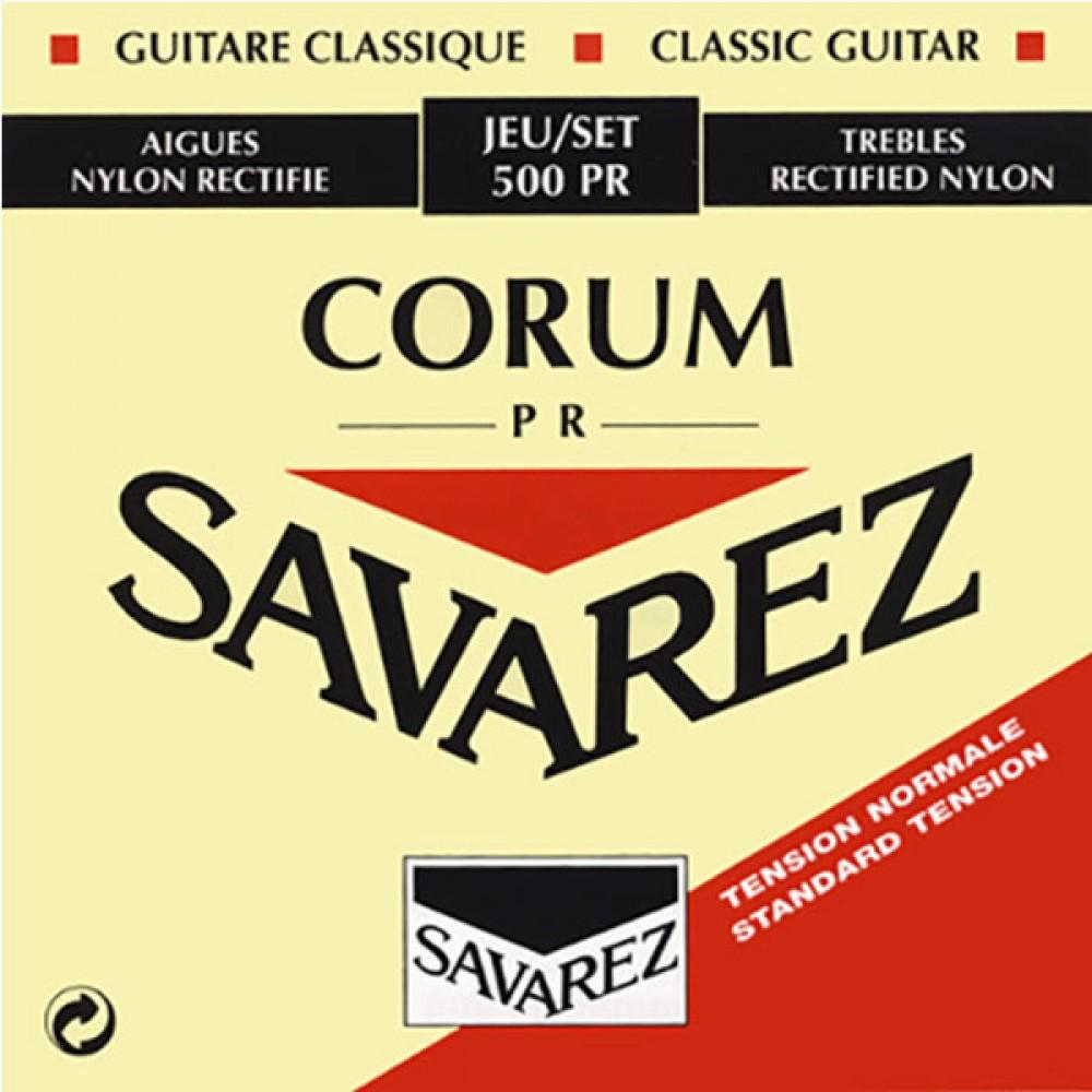 Струны Savarez 500PR, классические, посеребренные, Normal Tension