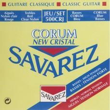 Струны Savarez 500CRJ, классические, посеребренные, High-Normal Tension