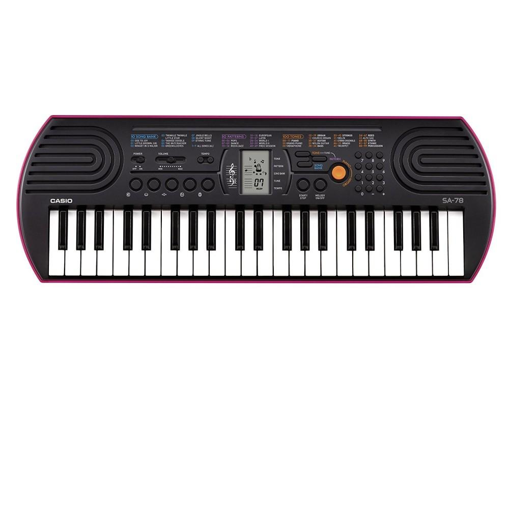 Синтезатор для детей Casio  SA-78