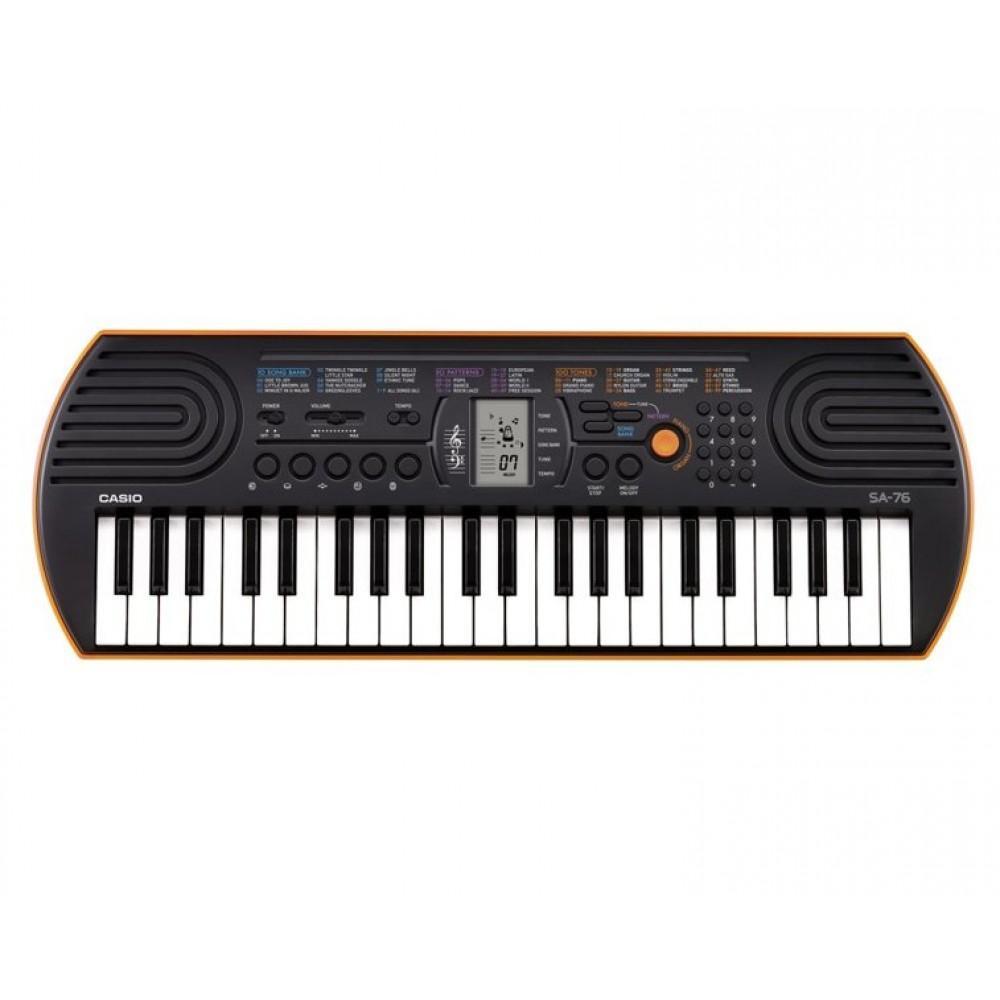 Синтезатор для детей Casio  SA-76